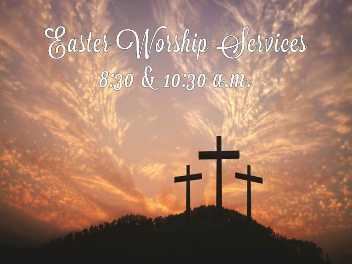 Easter Worship Services Lavanderia